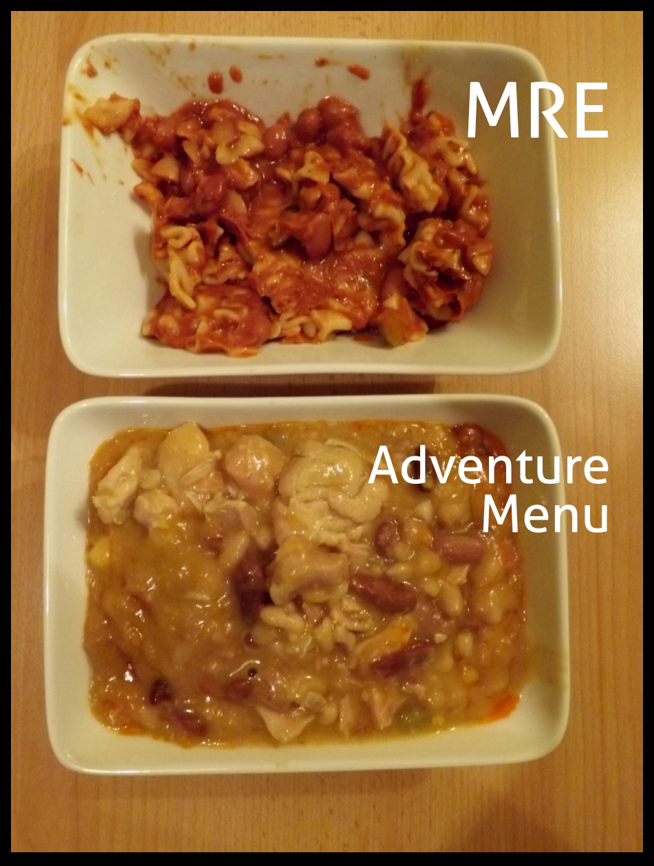 MRE vs. Adventure Menu