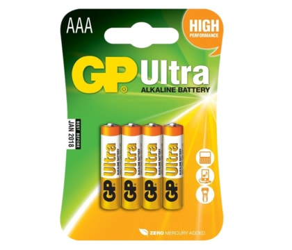 GP Ultra Alkaline R03 (AAA) blistr/4 ks